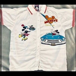 Disney vintage Mickey's drive in t shirt large